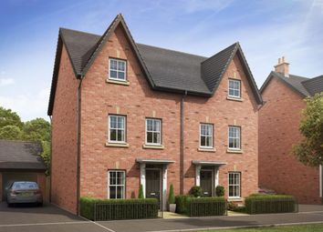 "Thumbnail 4 bedroom semi-detached house for sale in ""Woodbridge"" at Harbury Lane, Heathcote, Warwick"