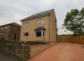 Thumbnail 4 bed detached house for sale in Clough Lane, Halifax