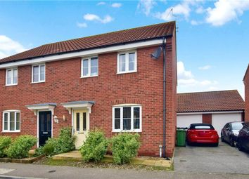 Thumbnail 3 bedroom semi-detached house for sale in Aspen Road, Caister-On-Sea, Great Yarmouth