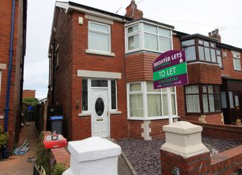 Thumbnail 3 bed terraced house to rent in Carleton Avenue, Blackpool