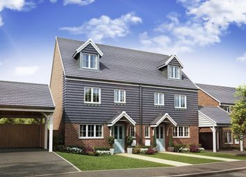 "Thumbnail 4 bed semi-detached house for sale in ""The Leicester"" at High Street, Newington, Sittingbourne"