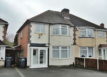 Thumbnail 3 bedroom semi-detached house to rent in Fox Hollies Road, Acocks Green, Birmingham