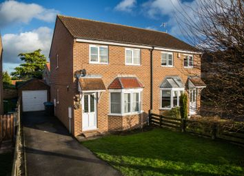 Thumbnail 3 bed semi-detached house for sale in Bielby Close, Bedale