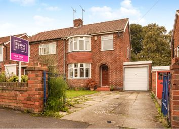 Thumbnail 3 bed semi-detached house for sale in Langholme Drive, York
