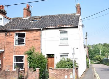 Thumbnail 2 bed end terrace house for sale in Denmark Road, Beccles