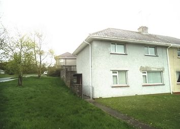 Thumbnail 3 bed semi-detached house for sale in Glannant Road, Bridgend