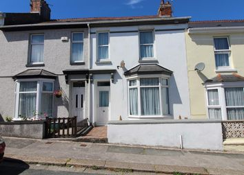 Thumbnail 3 bed terraced house for sale in Widey View, Mannamead, Plymouth