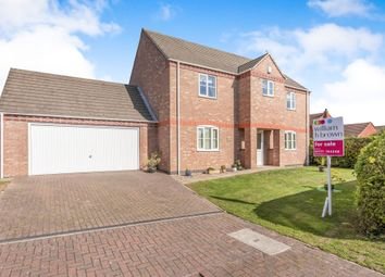 Thumbnail 4 bed detached house for sale in Stocks Fold, East Markham, Newark
