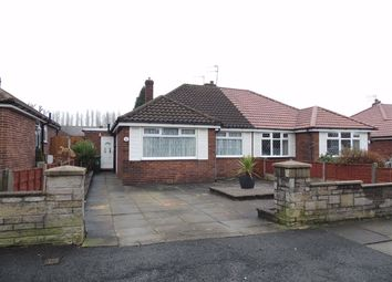 Thumbnail 2 bed semi-detached bungalow for sale in Low Wood Road, Denton, Manchester