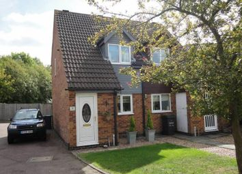 Thumbnail 2 bed town house for sale in Caernarvon Close, Mountsorrel, Leicestershire