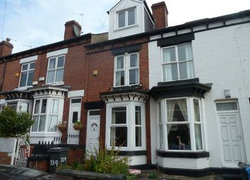 Thumbnail 4 bed terraced house to rent in South View Road, Sheffield