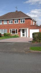 Thumbnail 3 bed semi-detached house to rent in Poplar Crescent, Norton, Stourbridge