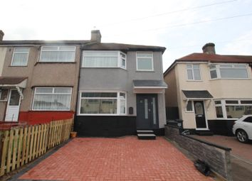 Thumbnail 3 bed end terrace house for sale in Savoy Road, Dartford, Kent