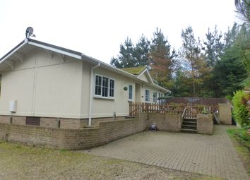 Thumbnail 2 bed mobile/park home for sale in Telegraph Hill, Honingham, Norwich