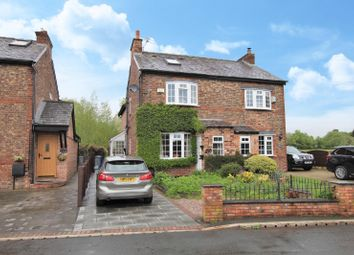 Thumbnail 3 bed semi-detached house for sale in Leighs Cottages, Wellfield Lane, Timperley