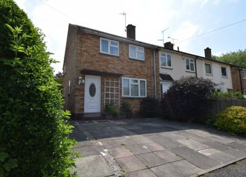Thumbnail 3 bed end terrace house for sale in Flatholme Road, Netherhall, Leicester