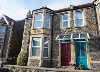 Thumbnail 4 bed semi-detached house for sale in Marson Road, Clevedon
