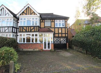 Thumbnail 5 bed semi-detached house for sale in Winchfield Close, Kenton