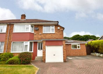 Thumbnail 3 bed semi-detached house for sale in Grove Court, Pudsey, West Yorkshire