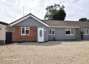 Thumbnail 3 bed semi-detached bungalow for sale in Lancaster Gate, Sawbridgeworth, Herts