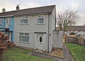 Thumbnail 3 bedroom end terrace house for sale in Norwich Avenue, Plymouth, Devon