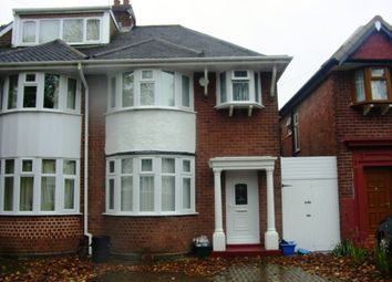 Thumbnail 4 bed semi-detached house to rent in Pendragon Road, Perry Barr