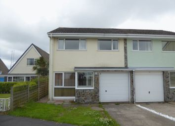 Thumbnail 3 bed semi-detached house to rent in Derwent Drive, Onchan, Isle Of Man