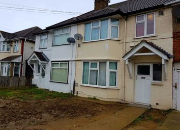 Thumbnail 3 bed semi-detached house to rent in Byron Avenue, Hounslow