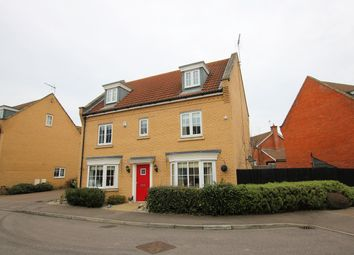 Thumbnail 5 bedroom detached house for sale in Parker Way, Little Canfield, Dunmow, Essex