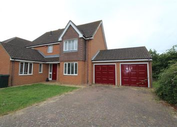 Thumbnail 4 bed detached house to rent in Temple Close, Kingsnorth, Ashford