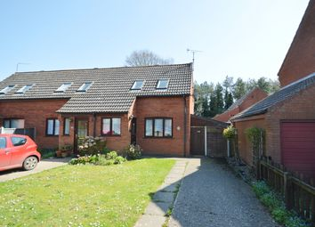 Thumbnail 1 bed semi-detached house for sale in Charles Road, Holt, Norfolk