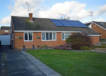 Thumbnail 2 bed semi-detached bungalow for sale in Cherry Tree Close, Countesthorpe, Leicester