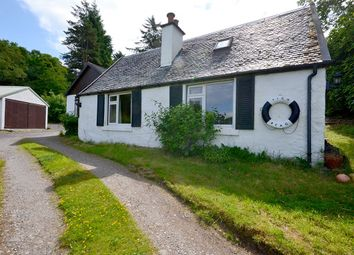 Thumbnail 3 bed detached bungalow for sale in Connel, Oban