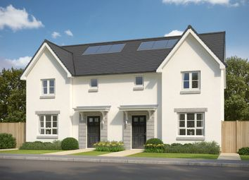 """Thumbnail 3 bed semi-detached house for sale in """"Craigend"""" at Meikle Earnock Road, Hamilton"""