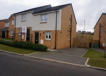 Thumbnail 2 bed semi-detached house for sale in Cailhead Drive, Cumbernauld