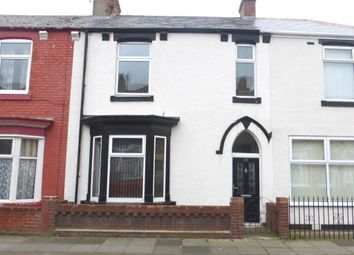 Thumbnail 3 bedroom terraced house for sale in Lister Street, Hartlepool