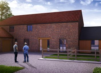 Thumbnail 4 bed link-detached house for sale in Gainsborough Road, Middle Rasen, Market Rasen