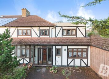 Thumbnail 4 Bed Semi Detached House For Sale In Hardley Crescent Hornchurch Es