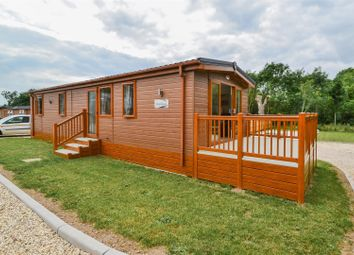 Thumbnail 2 bed mobile/park home for sale in Bourne Road, Defford, Worcester