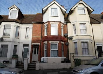 Thumbnail 1 bed flat for sale in Linden Crescent, Folkestone, Kent