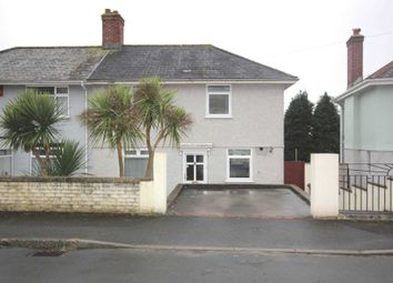 Thumbnail 3 bed semi-detached house to rent in Blairgowrie Road, Plymouth