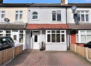 Thumbnail 3 bedroom terraced house for sale in Drummond Avenue, Romford