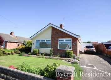 Thumbnail 3 bed detached bungalow for sale in Alexander Close, Caister-On-Sea, Great Yarmouth