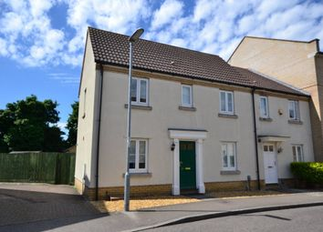 Thumbnail 3 bedroom end terrace house to rent in Wissey Way, Ely