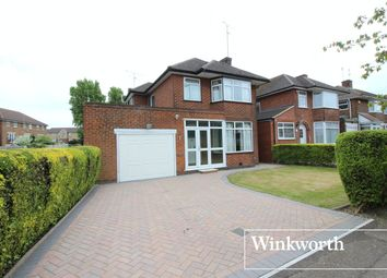 Thumbnail 3 bed detached house for sale in Manor Way, Borehamwood, Hertfordshire
