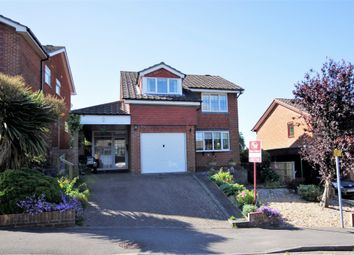 Thumbnail 4 bedroom detached house for sale in Pitchpond Road, Warsash, Southampton