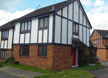 Thumbnail 1 bed maisonette to rent in Ratby Close, Lower Earley, Reading