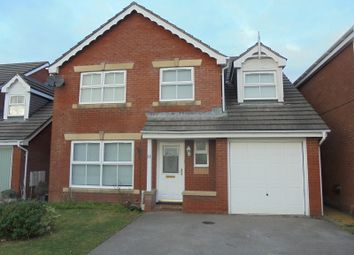 Thumbnail 5 bed detached house to rent in Gelli Wen, Bridgend