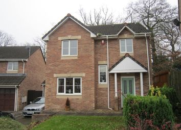 Thumbnail 4 bed detached house for sale in Oakland Gardens, Bargoed