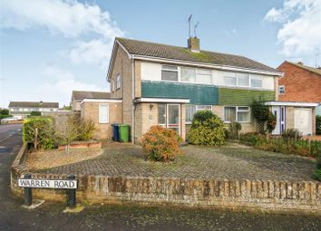 Thumbnail 3 bedroom semi-detached house for sale in Fairfields, St. Ives, Huntingdon